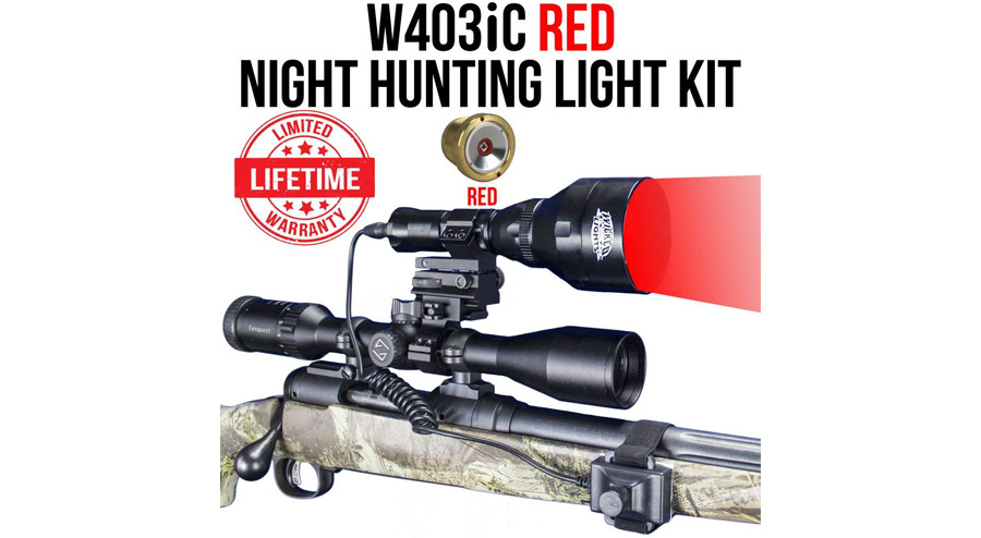 Wicked Lights W403IC Red Night Hunting Kit